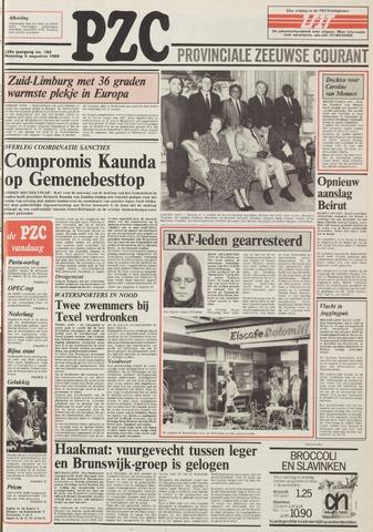 Provinciale Zeeuwse Courant 1986-08-04