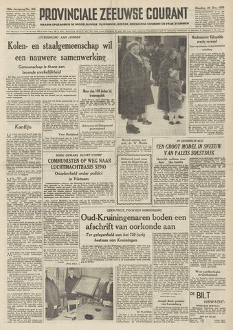 Provinciale Zeeuwse Courant 1953-12-29