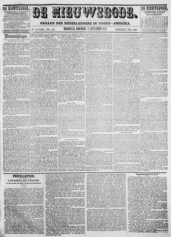 Sheboygan Nieuwsbode 1857-09-15
