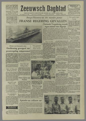 Zeeuwsch Dagblad 1957-10-01