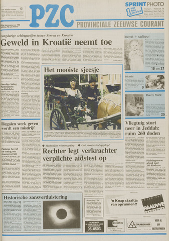 Provinciale Zeeuwse Courant 1991-07-12