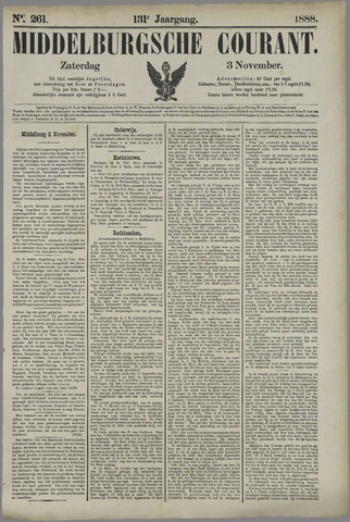 Middelburgsche Courant 1888-11-03