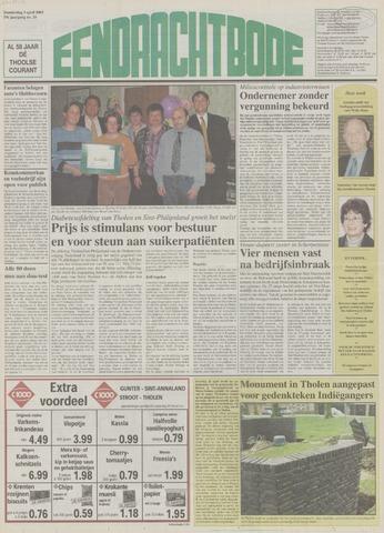 Eendrachtbode (1945-heden)/Mededeelingenblad voor het eiland Tholen (1944/45) 2003-04-03