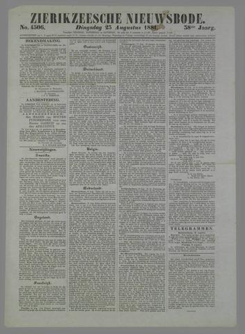 Zierikzeesche Nieuwsbode 1881-08-23