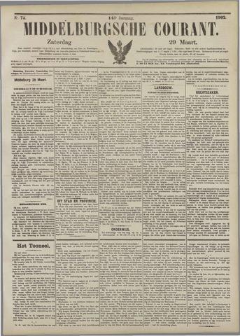 Middelburgsche Courant 1902-03-29