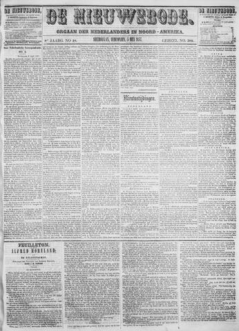 Sheboygan Nieuwsbode 1857-05-05