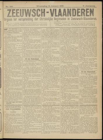 Luctor et Emergo. Antirevolutionair nieuws- en advertentieblad voor Zeeland / Zeeuwsch-Vlaanderen. Orgaan ter verspreiding van de christelijke beginselen in Zeeuwsch-Vlaanderen 1920-01-14