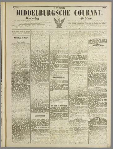 Middelburgsche Courant 1906-03-29