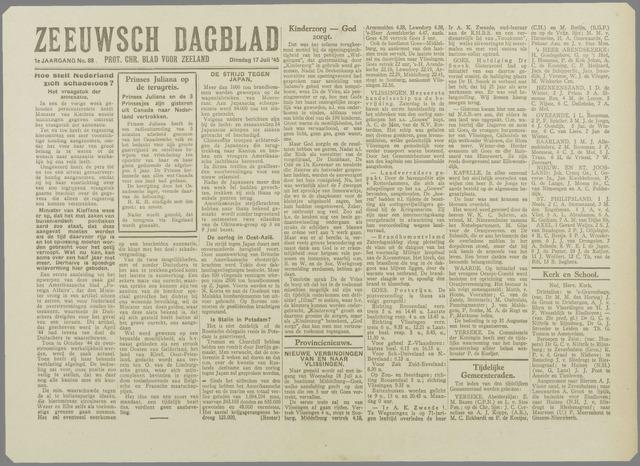 Zeeuwsch Dagblad 1945-07-17