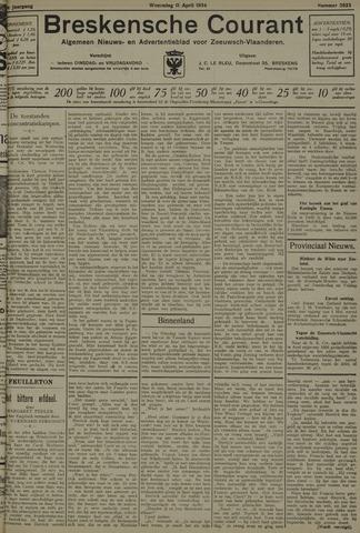 Breskensche Courant 1934-04-11