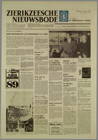Zierikzeesche Nieuwsbode 1972-10-05