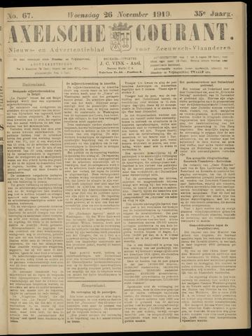 Axelsche Courant 1919-11-26