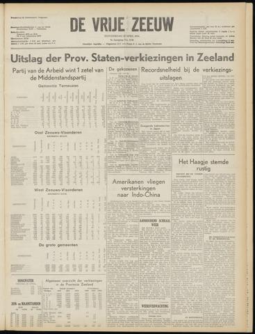 de Vrije Zeeuw 1954-04-22