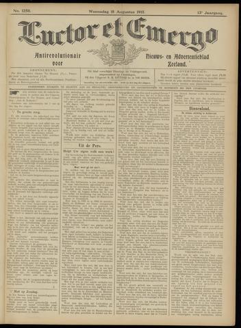 Luctor et Emergo. Antirevolutionair nieuws- en advertentieblad voor Zeeland / Zeeuwsch-Vlaanderen. Orgaan ter verspreiding van de christelijke beginselen in Zeeuwsch-Vlaanderen 1915-08-18