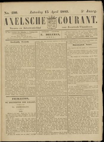 Axelsche Courant 1889-04-13