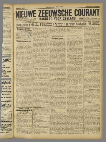 Nieuwe Zeeuwsche Courant 1922-05-04