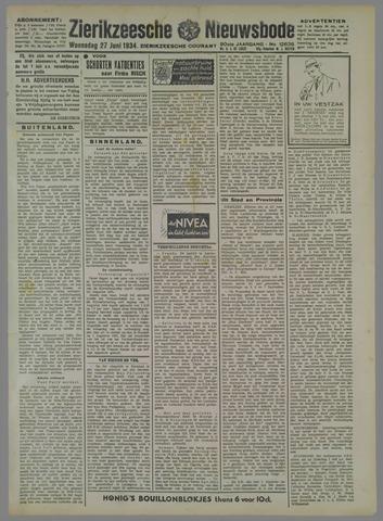 Zierikzeesche Nieuwsbode 1934-06-27