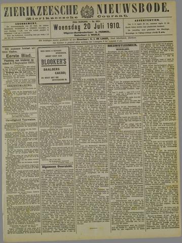 Zierikzeesche Nieuwsbode 1910-07-20
