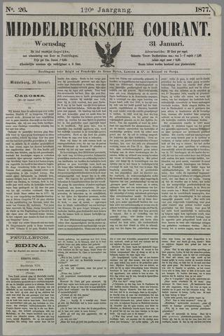 Middelburgsche Courant 1877-01-31