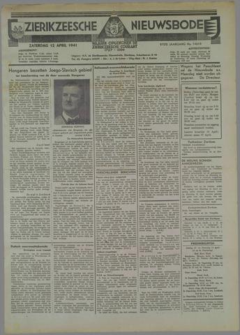 Zierikzeesche Nieuwsbode 1941-04-12