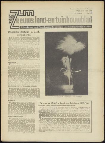 Zeeuwsch landbouwblad ... ZLM land- en tuinbouwblad 1965-05-07