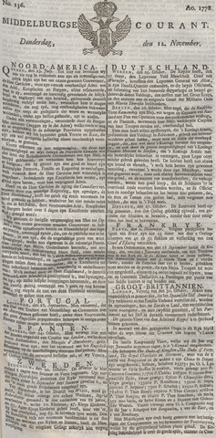 Middelburgsche Courant 1778-11-12