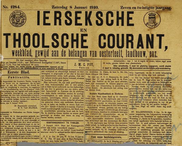 Ierseksche en Thoolsche Courant 1910