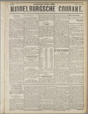 Middelburgsche Courant 1922-05-18
