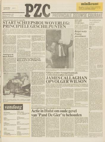 Provinciale Zeeuwse Courant 1976-04-06