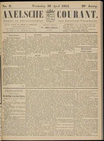 Axelsche Courant 1913-04-30