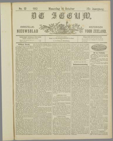De Zeeuw. Christelijk-historisch nieuwsblad voor Zeeland 1912-10-14