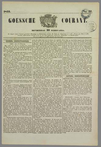Goessche Courant 1853-02-10