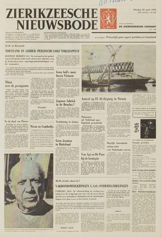 Zierikzeesche Nieuwsbode 1973-04-10