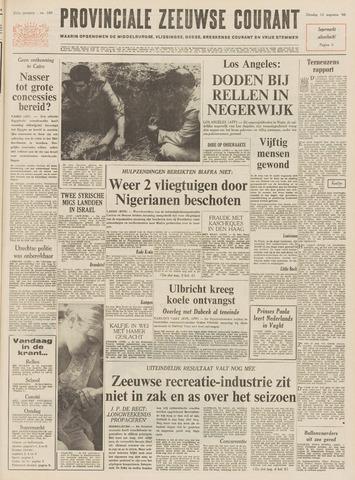 Provinciale Zeeuwse Courant 1968-08-13