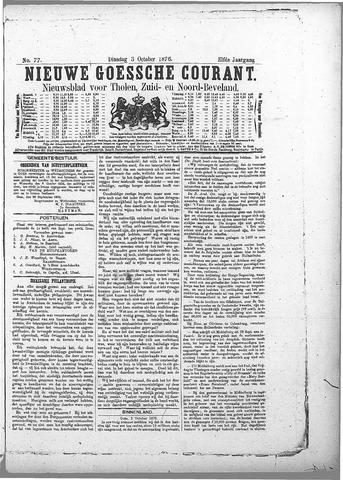 Nieuwe Goessche Courant 1876-10-03
