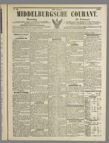 Middelburgsche Courant 1906-02-26