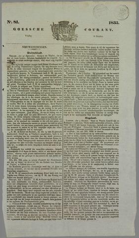 Goessche Courant 1835-10-09