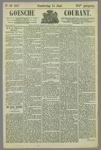 Goessche Courant 1917-06-14
