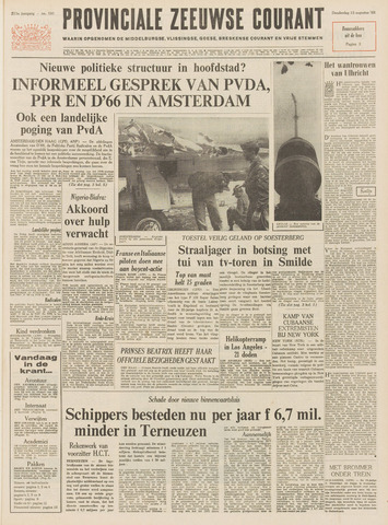 Provinciale Zeeuwse Courant 1968-08-15