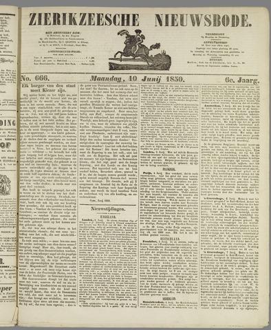 Zierikzeesche Nieuwsbode 1850-06-10