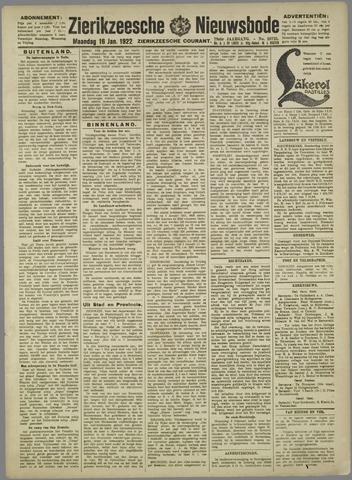 Zierikzeesche Nieuwsbode 1922-01-16