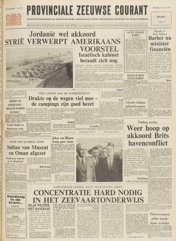 Provinciale Zeeuwse Courant 1970-07-27