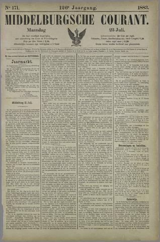 Middelburgsche Courant 1883-07-23