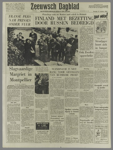 Zeeuwsch Dagblad 1961-10-31