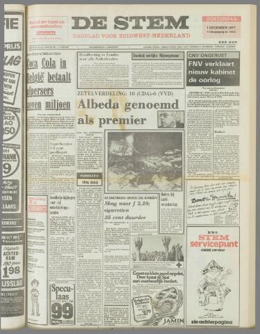 de Stem 1977-12-01