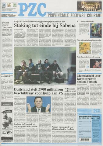 Provinciale Zeeuwse Courant 2001-11-07