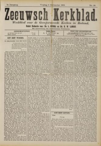 Zeeuwsche kerkbode, weekblad gewijd aan de belangen der gereformeerde kerken/ Zeeuwsch kerkblad 1909-11-05