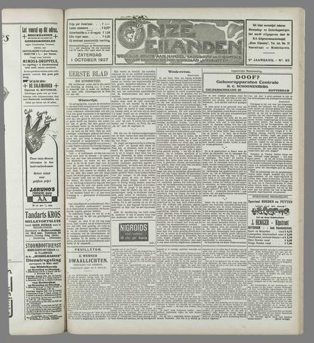 Onze Eilanden 1927-10-01