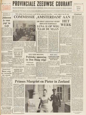 Provinciale Zeeuwse Courant 1966-08-25