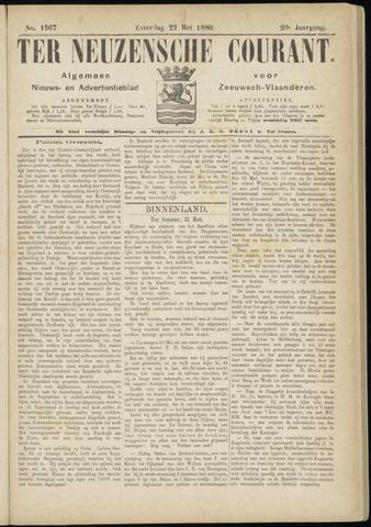 Ter Neuzensche Courant. Algemeen Nieuws- en Advertentieblad voor Zeeuwsch-Vlaanderen / Neuzensche Courant ... (idem) / (Algemeen) nieuws en advertentieblad voor Zeeuwsch-Vlaanderen 1880-05-22